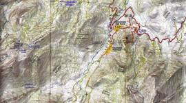 Χάρτης περιοχής Μίχα - Τσαπουρνιά